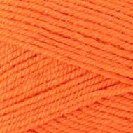 Plymouth Bright Orange Encore Worsted Yarn (4 - Medium)
