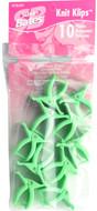 Susan Bates 10-Pack Knit Klips (Green)