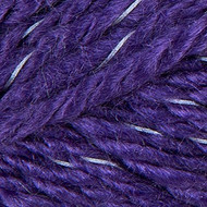 Red Heart Yarn Purple Reflective Yarn (5 - Bulky)