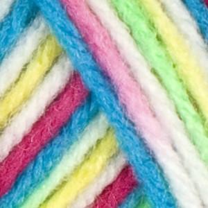 Red Heart Yarn Rainbow Brights Classic Yarn (4 - Medium)