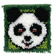"WonderArt Panda 8"" x 8"" Latch Hook Kit"