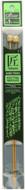"Clover Tools Takumi Bamboo 2-Pack 9"" Single Point Knitting Needles (Size US 1 - 2.25 mm)"