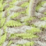 Lime Twist Baby Blanket Yarn - Small Ball (6 - Super Bulky) by Bernat