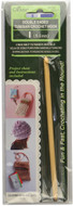 Clover Tools Double Ended Tunisian Crochet Hook (Size US I-9 - 5.5 mm)