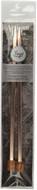 "Boye Artisan Tools 2-Pack 10"" Single Point Aluminium Square Knitting Needles (Size US 11 - 8 mm)"