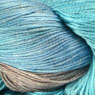 Glacier Sea Silk Yarn (1 - Super Fine) by Handmaiden