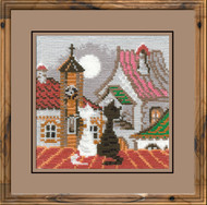 Riolis Cross Stitch Cats In Spring Cross Stitch Kit