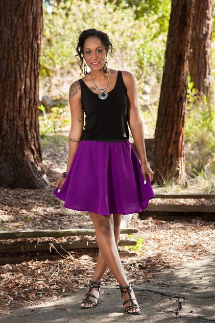 Libby Flounce Skirt