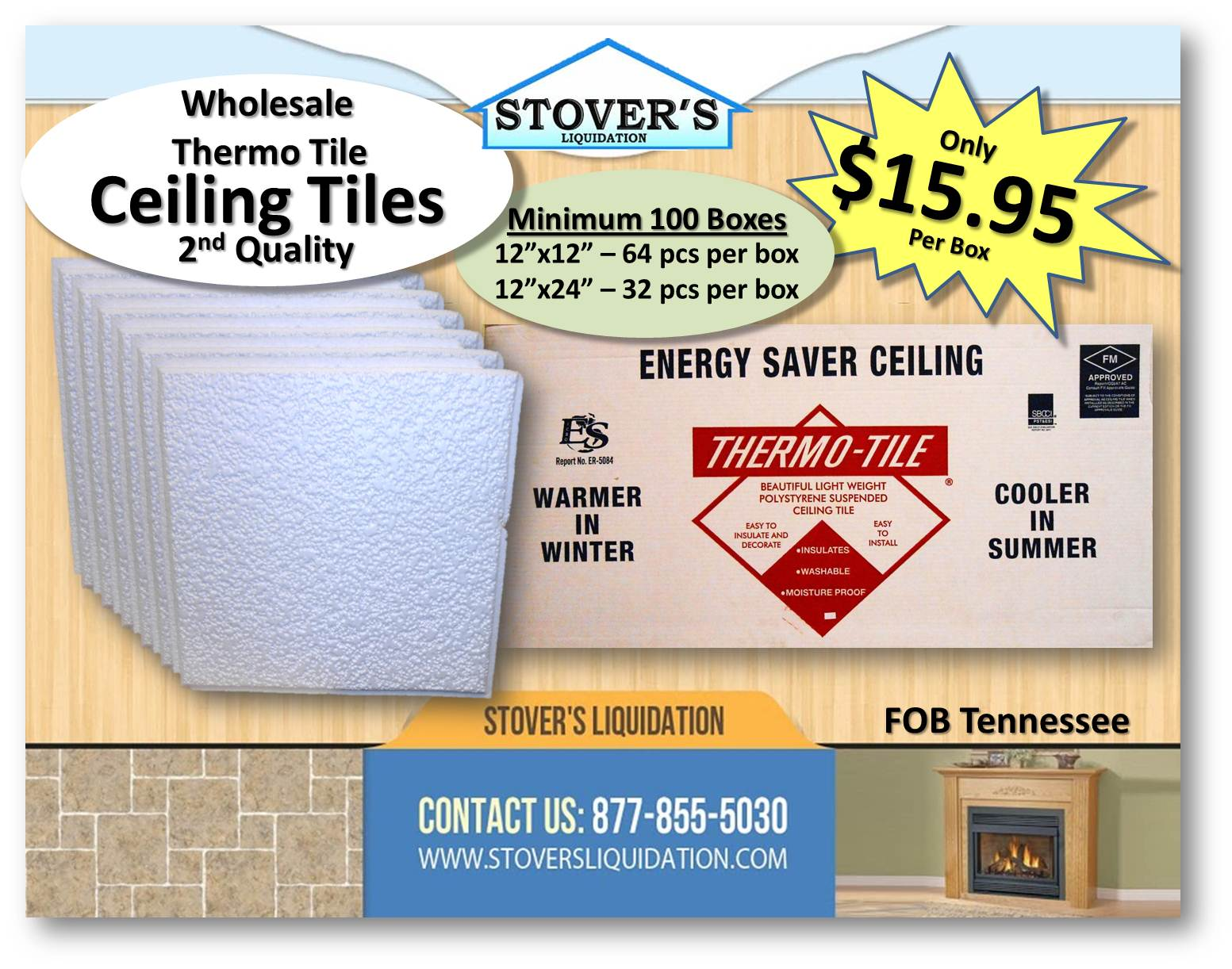 Ceiling tile wholesale