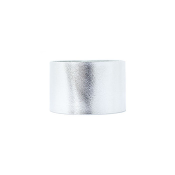 N&S Signature Silver Wide Leather Cuff