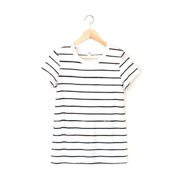 N&S Women's Striped Tee