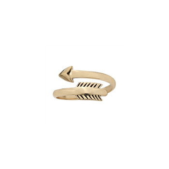Bronze Arrow Ring