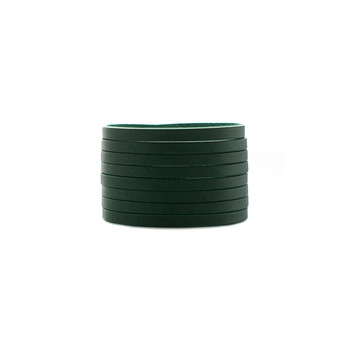 N&S Select Green Slit Leather Cuff
