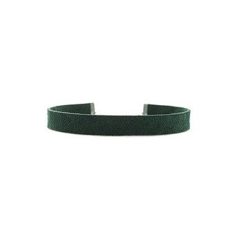 Emerald Suede Leather Choker