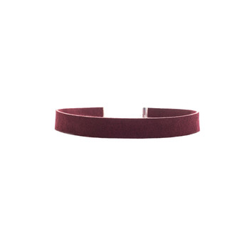 Vino Leather Choker Nickel and Suede