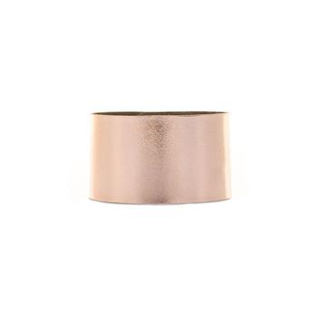 N&S Signature Rose Gold Wide Leather Cuff