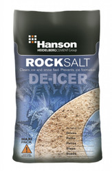 25KG Brown Deicing Rock Salt BS3247