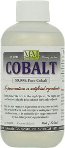 Cobalt 8 ounce bottle. Also comes in 16 and 128 ounce sizes.