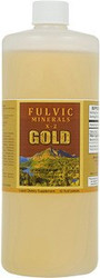 Fulvic Minerals Gold Physician's Formula X-2 comes in 32 and 128 ounce bottles.