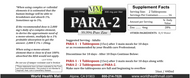 Para-2 Zinc is a 16 ounce bottle.