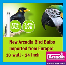 Arcadia | Bird | Lamp | T8 | 24 | Inch