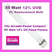 55 Watt PL Bulb for Arcadia UVB Flood