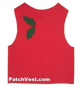 Felt Christmas Vest