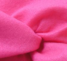 Shocking Pink Felt Vest