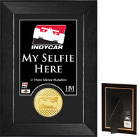 """DROPSHIP"" INDYCAR Selfie Bronze Coin Mini Mint"