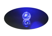 Wing Wheel and Flag LED Clear Bouncy Ball