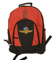 Wing Wheel and Flag Primetime Backpack