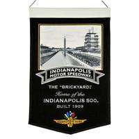 Indianapolis Motor Speedway Wool Stadium Banner