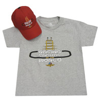 Youth Indianapolis Motor Speedway Racing Tower Hat/Tee Combo