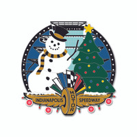 Indianapolis Motor Speedway Holiday Lights Lapel Pin