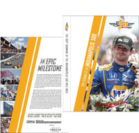 2016 Indy 500 100th Running DVD
