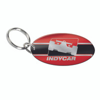 INDYCAR Oval Frost Keychain