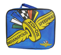 Wing Wheel and Flag Big Logo Flat Lunch Box