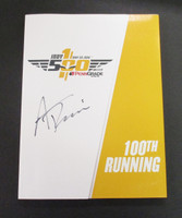 Alexander Rossi Signed 100th Running Program