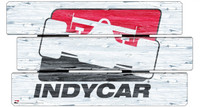 INDYCAR Vintage Wood 14x25 Wood Sign