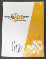 James Hinchcliffe Signed 100th Running Program