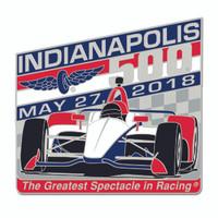 2018 Indy 500 Car Mount Lapel Pin