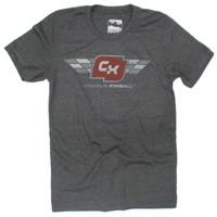 Charlie Kimball Checked Logo Polyblend Tee