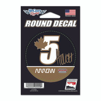 James Hinchcliffe Round Driver Decal