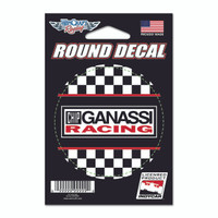 Chip Ganassi Racing Round Chekered Decal