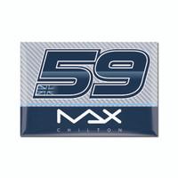 Max Chilton 2x3 Driver Magnet