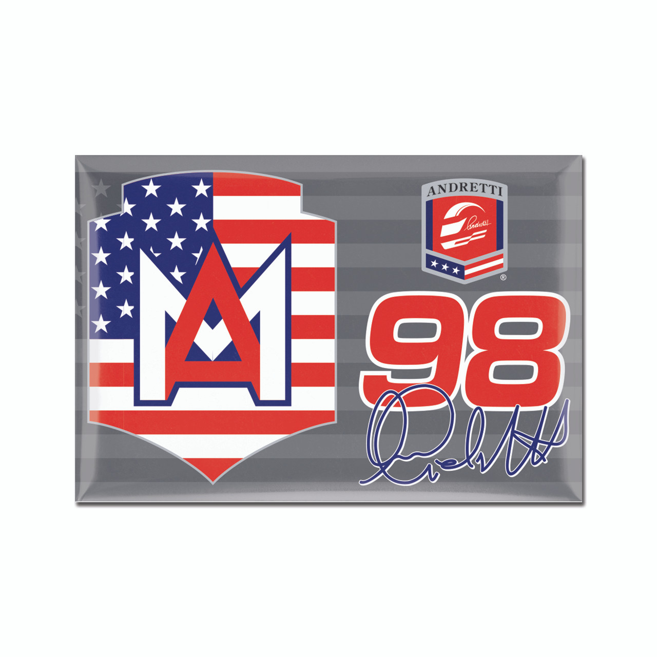 Marco Andretti 2x3 Driver Magnet - Indianapolis Motor Speedway/INDYCAR