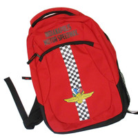 Wing Wheel and Flag Action Backpack