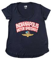 Ladies Indianapolis Motor Speedway Rayon Tee