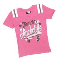 Girls James Hinchcliffe Hearts Triblend Tee