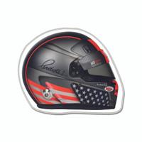Marco Andretti Helmet Lapel Pin